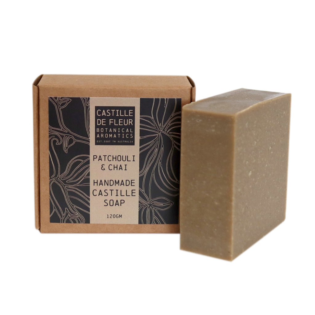Patchouli & Chai Castille Soap (120gm)