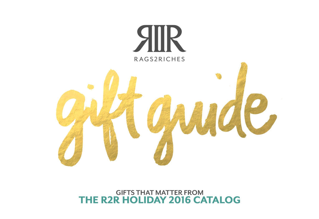 Gifts That Matter: Gift Guide From The R2R Holiday 2016 Catalog