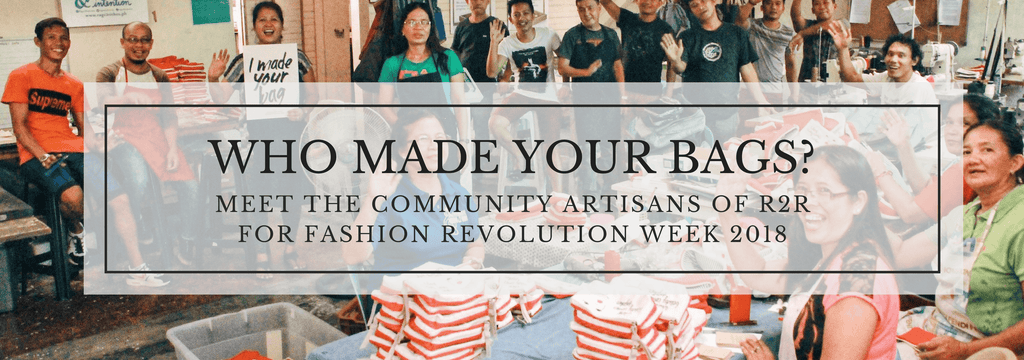 Who Made Your Bags? Meet the Community Artisans of R2R