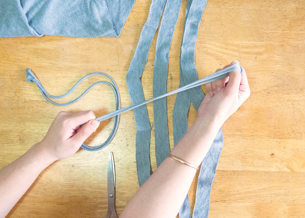 No-Hassle Tassels: The Easiest Way to Upcycle Your Old Shirts