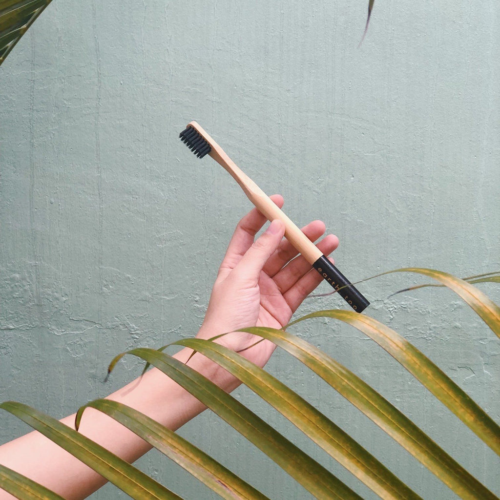 Bamboo Toothbrush - Adult Lifestyle Earth, Too