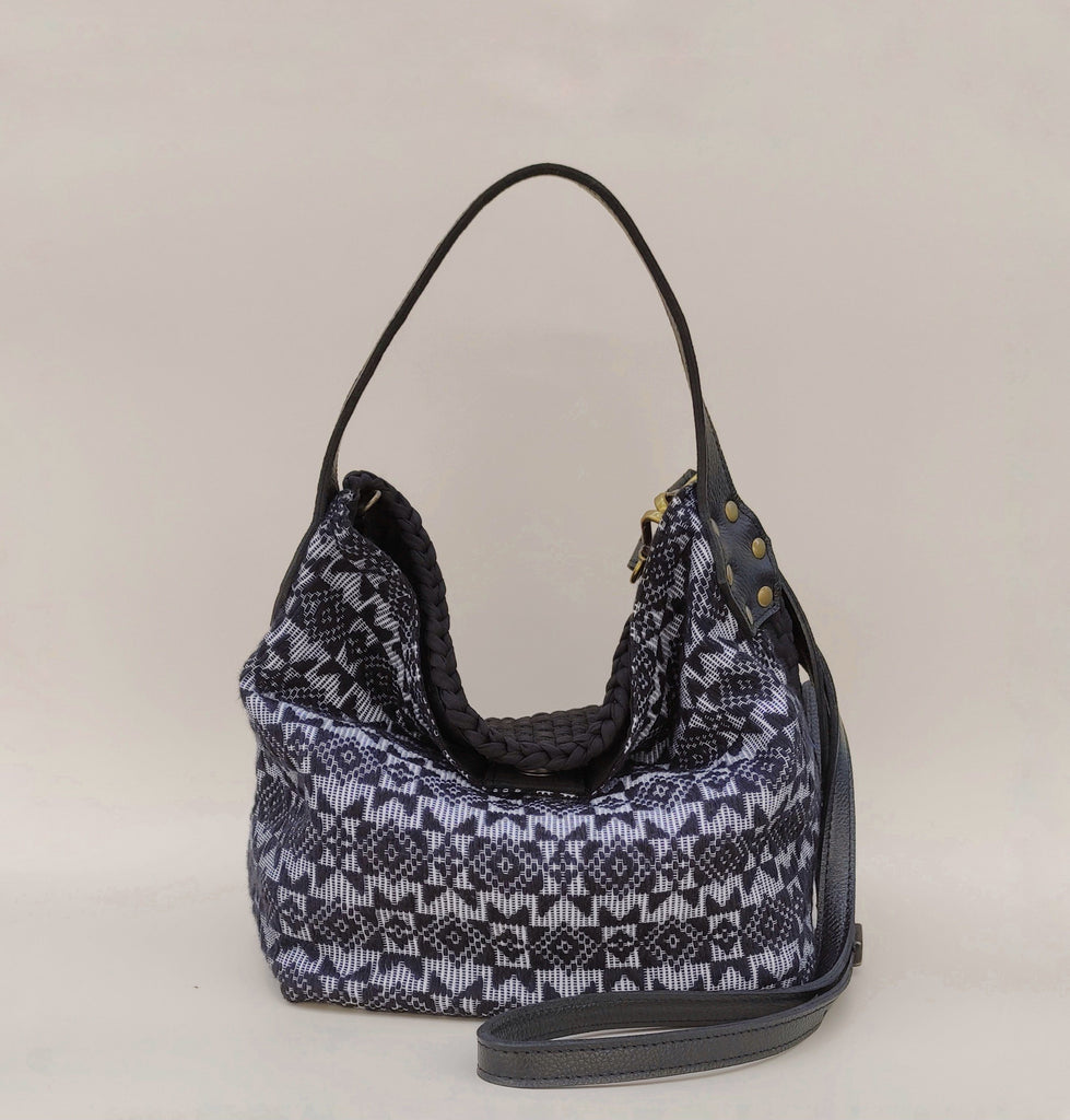 Buslo Mini with Indigenous Weave Black Pinilian Fashion Rags2Riches