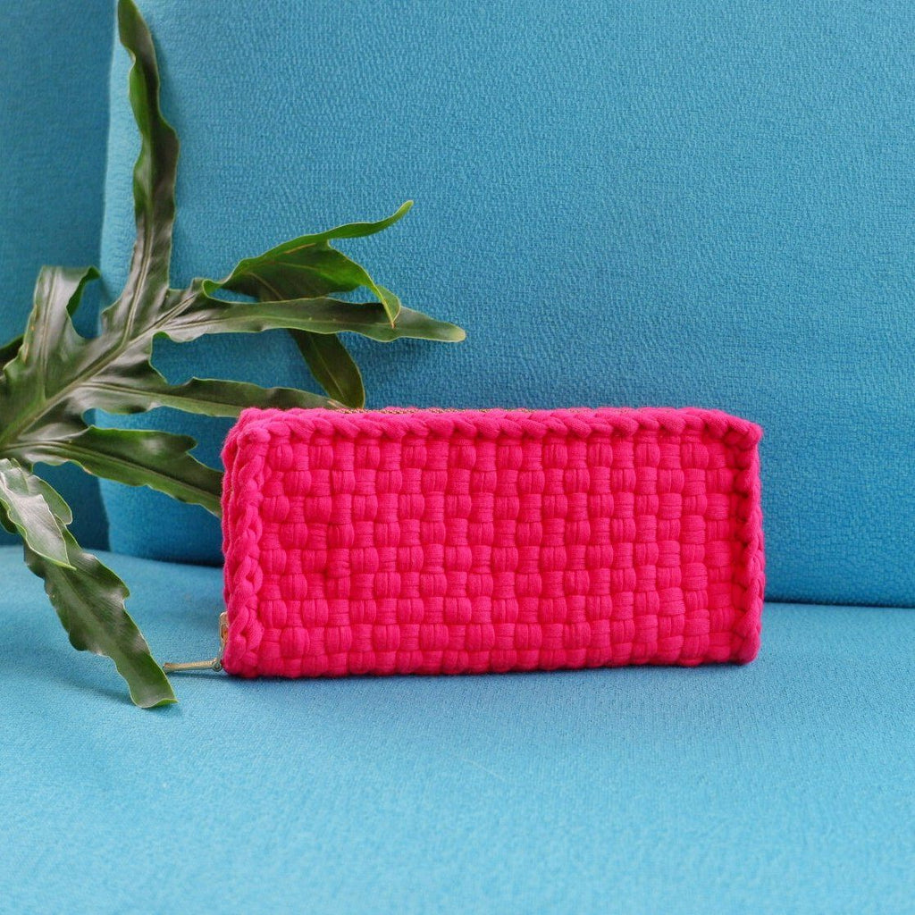 Chris Currency Wallet Fuchsia Fashion Rags2Riches