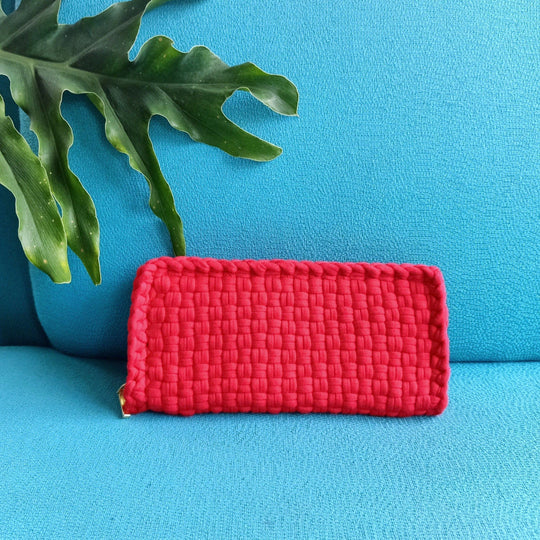 Chris Currency Wallet Red