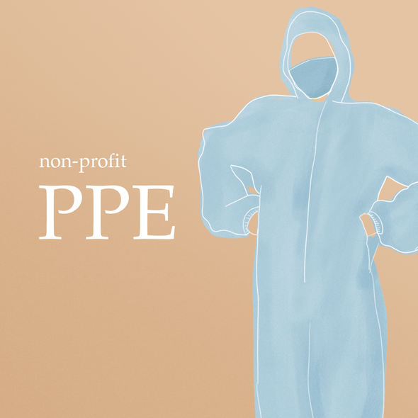 [FOR DONATION] Washable PPE Suit (Assorted Colors) Lifestyle Candid