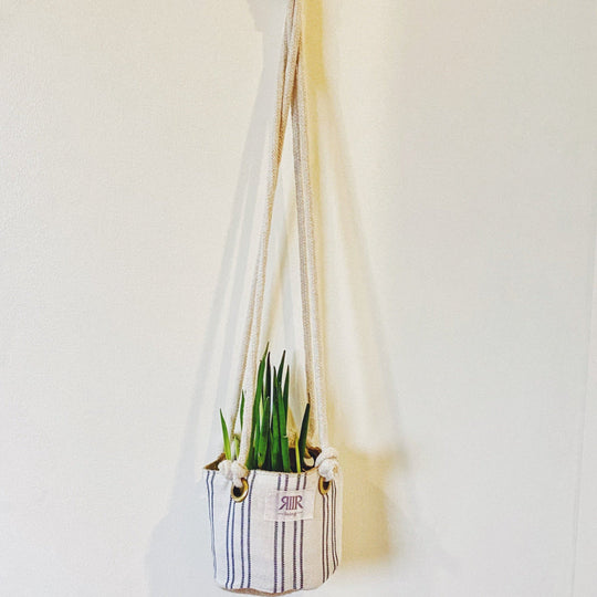 Hanging Planter Kantarines White