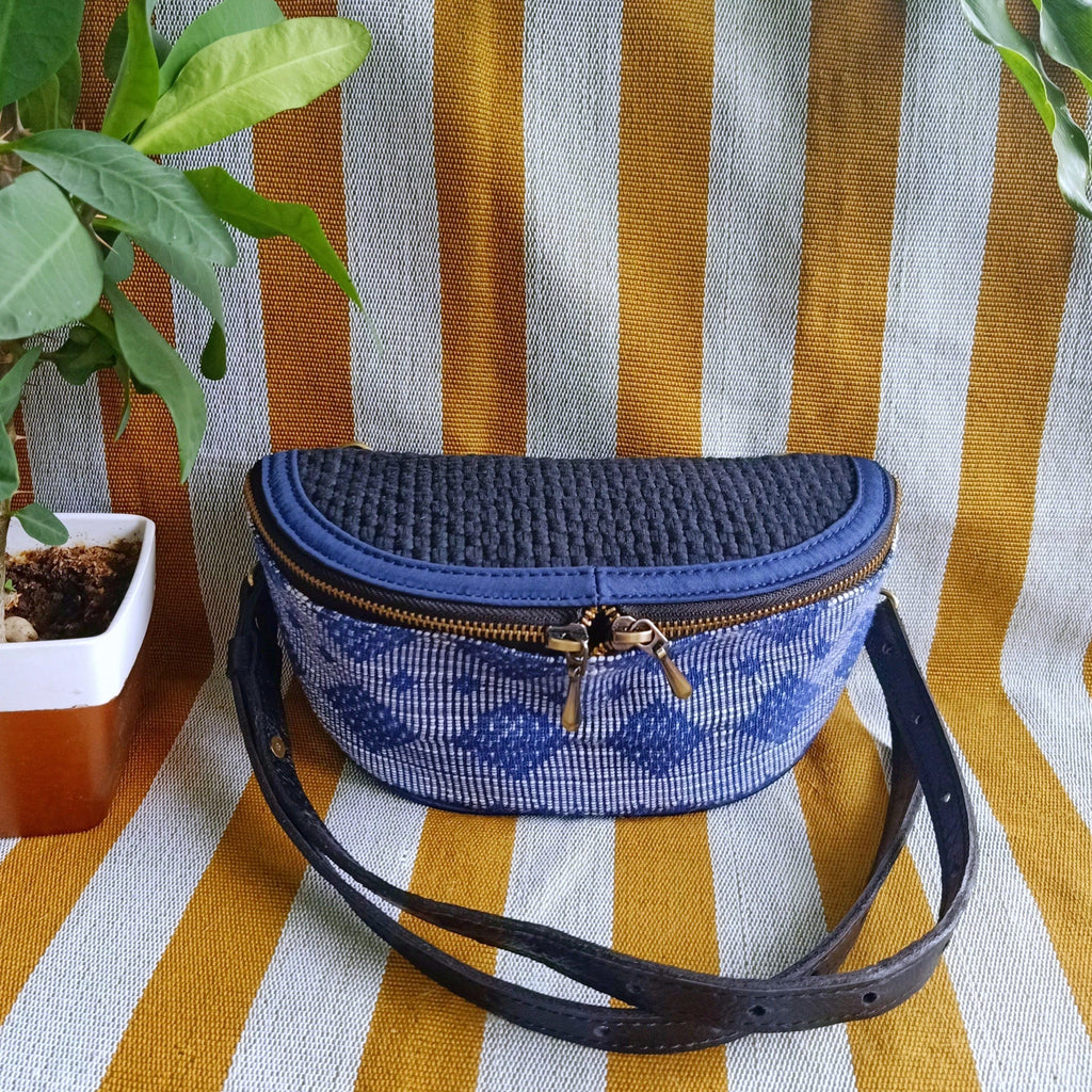 Noah Fanny Pack Navy Pinilian Fashion Rags2Riches