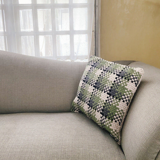 Pixel Pillows Checkered
