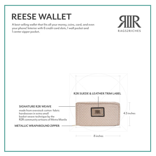 Reese Wallet Dark Brown