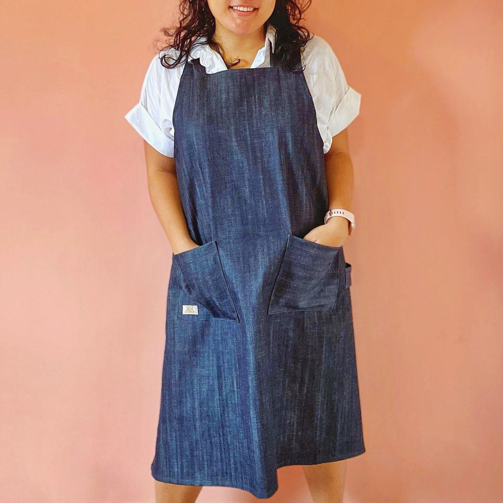 Smock Apron Denim Lifestyle Rags2Riches