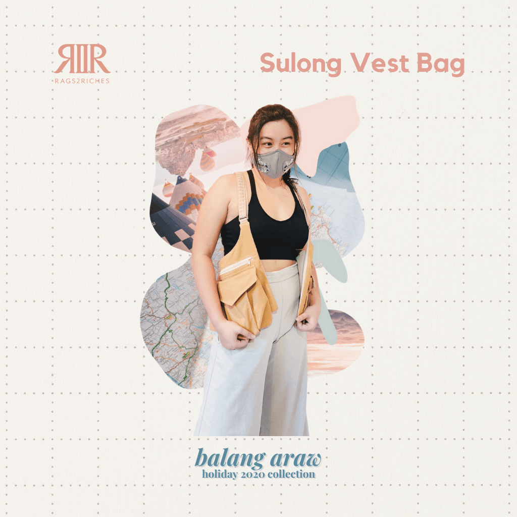 Sulong Vest Bag Fashion Rags2Riches