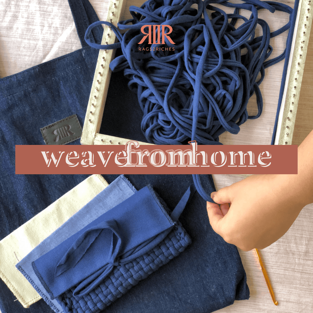 Weave From Home Kit Events Rags2Riches