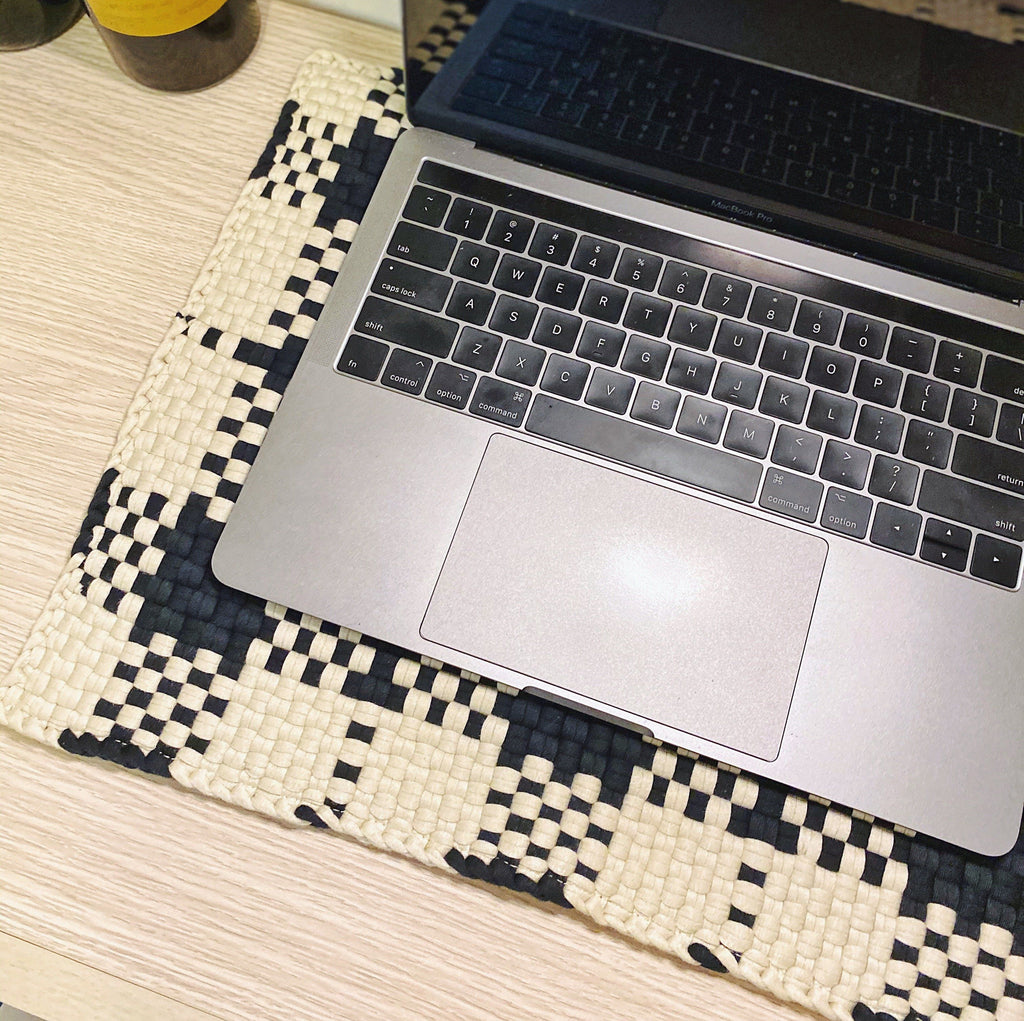 Woven Laptop Mat Home Rags2Riches