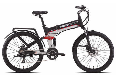 MOMO FULL SUSPENSION E-Bicycle