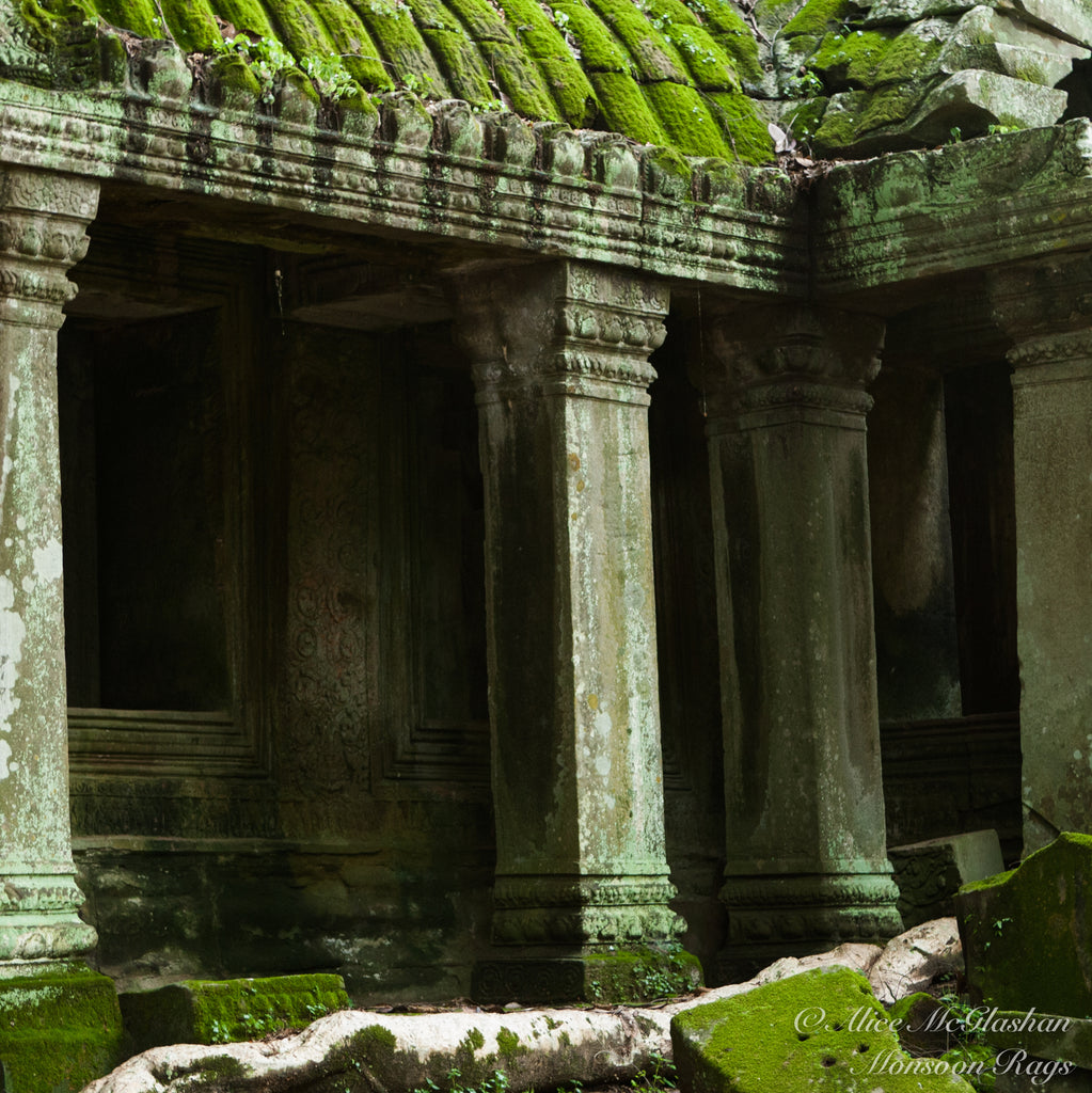 Dissused Cambodian Temple