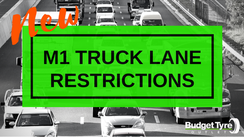 M1 Truck Lane Restrictions