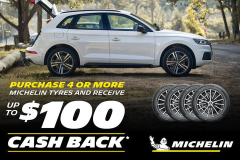 MICHELIN CASH BACK PROMO - APRIL 2021