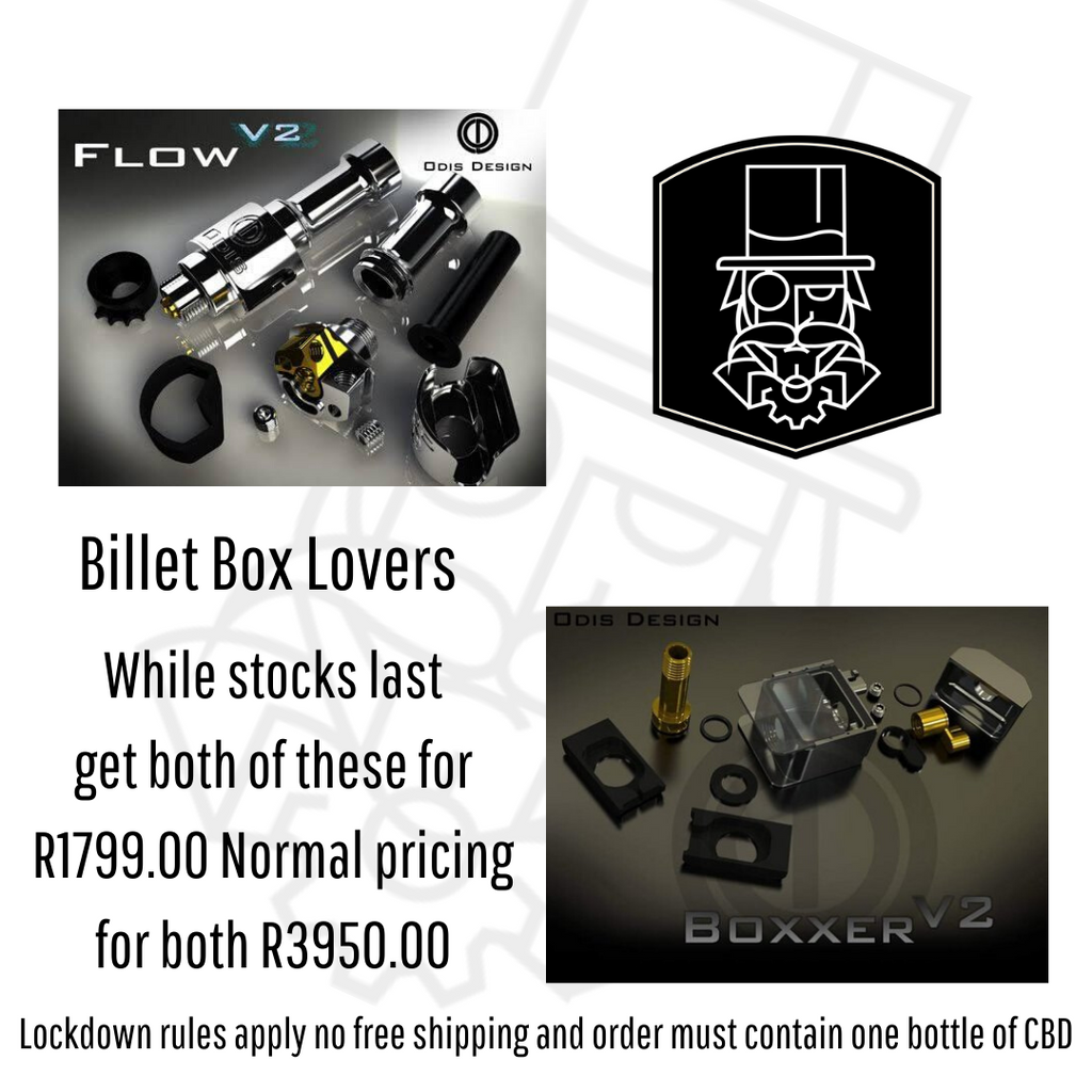 Boxxer V2 & Flow V2 Combo deal.