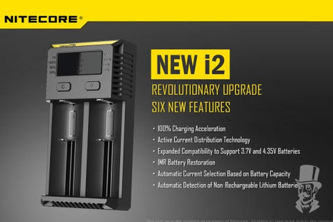 2017 Nitecore New i2 Intellicharger Battery Charger