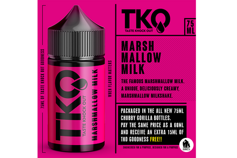 Marshmallow Milk by TKO 75ml