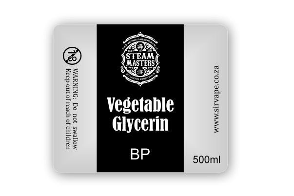 Vegetable Glycerin BP 500ml