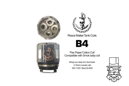 *** NEW ***  Double Barrel PeaceMaker Coils