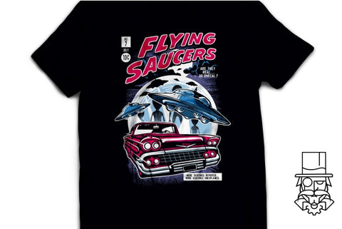 Flying Saucers T-Shirt