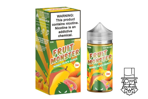 ***NEW*** Fruit Monster - Mango, Peach & Guava 100ml