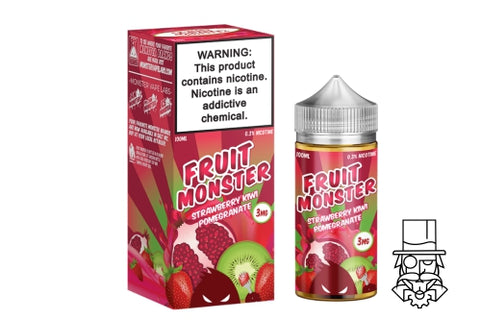 ***NEW*** Fruit Monster - Strawberry, Kiwi & Pomegranate 100ml