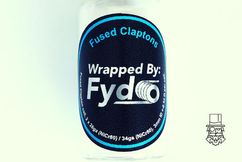 Wrapped by FYDO - Fused Clapton 3mm ID