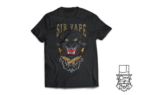 Sir Vape Black Panther T-Shirt