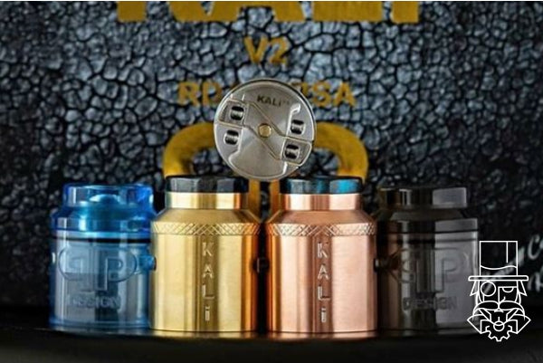 ***NEW COLOURS*** Kali V2 Master Kit RDA / RSA Brass / Copper