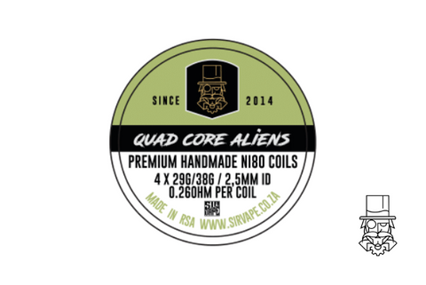 Quad Core Alien 3mm ID