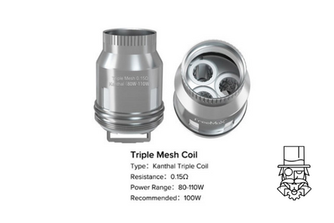 FreeMax Replacement M Coils for: Mesh Pro 2/M Pro/Fire Luke Pro/Mesh Pro