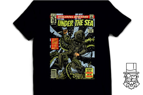 Under The Sea Comic T-Shirt