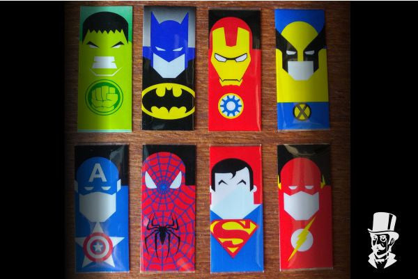 ***NEW*** Superhero 18650 Battery Wraps