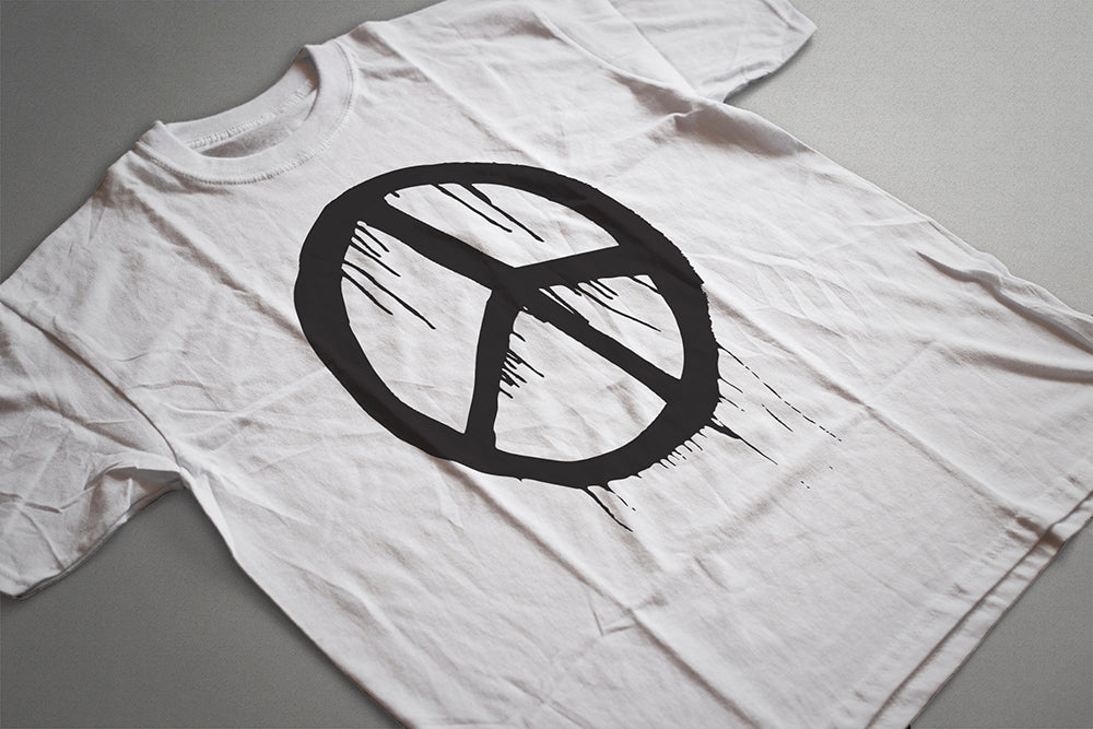 Peace Sign Symbol Tee T-Shirt