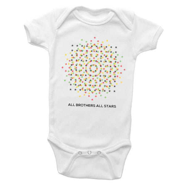 Dancing Stars All Brothers All Stars Peace Infant New Born Creeper - ALL BROTHERS ALL STARS -  - T-shirts