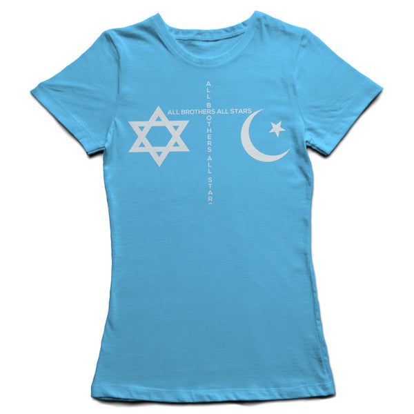 Girl's Peace T-Shirt - ALL BROTHERS ALL STARS -  - T-shirts - 1