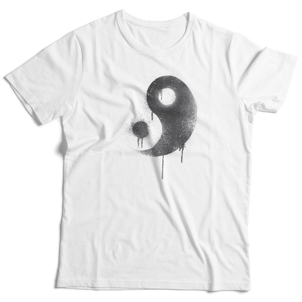 Made in USA Regular Fit Yin Yang Peace T-Shirt - ALL BROTHERS ALL STARS -  - T-shirts - 1