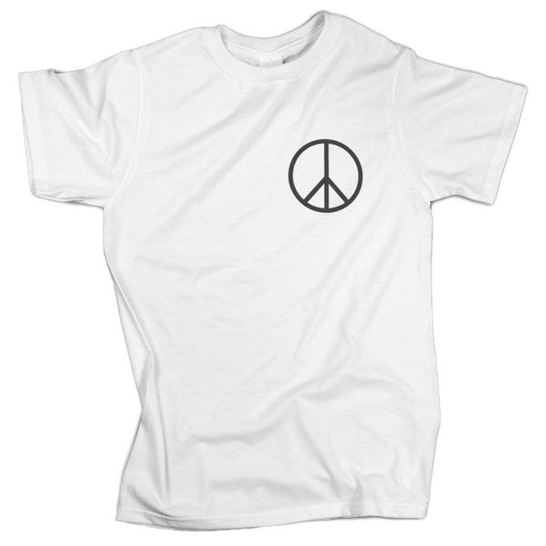 Made in USA Regular Fit Peace Sign Tee Shirt - ALL BROTHERS ALL STARS -  - T-shirts - 1