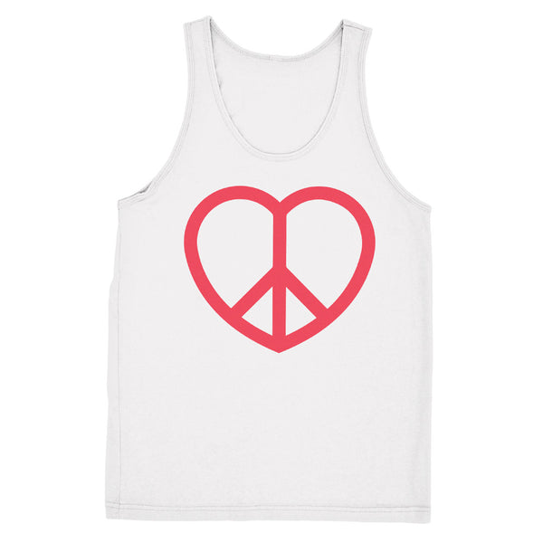 Unisex Peace and Love Sign Tank - ALL BROTHERS ALL STARS -  - T-shirts