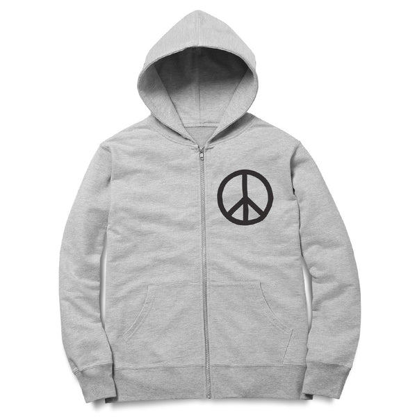 Peace Sign Zip Hoodie - ALL BROTHERS ALL STARS -  - Sweatshirts - 1