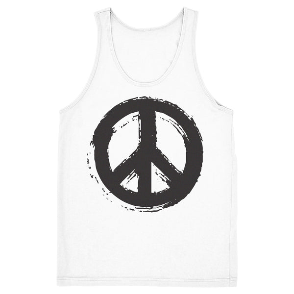 Unisex Peace Symbol Tank - ALL BROTHERS ALL STARS -  - T-shirts - 1