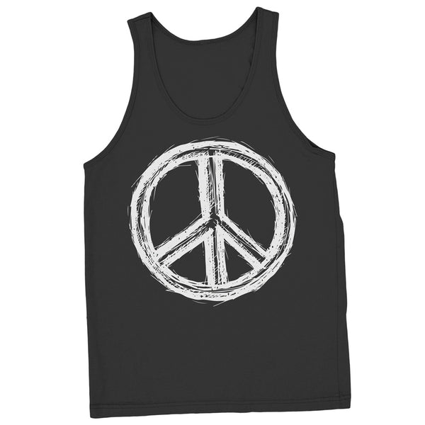 Regular Fit Peace Sign Tank - ALL BROTHERS ALL STARS -  - T-shirts - 1