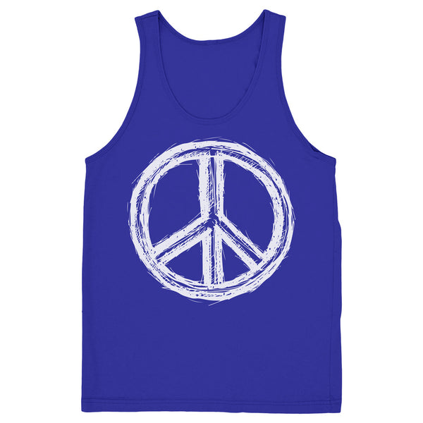 Unisex Peace Sign Tank - ALL BROTHERS ALL STARS -  - T-shirts - 1