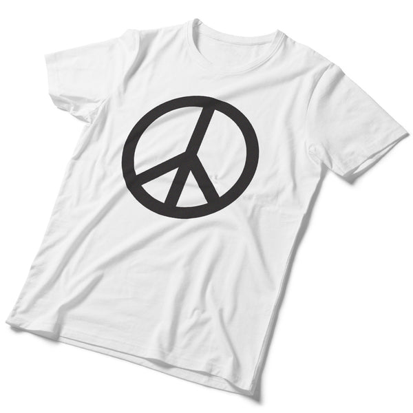Made in USA Slim-Fit Peace Sign T-Shirt - ALL BROTHERS ALL STARS -  - T-shirts - 1