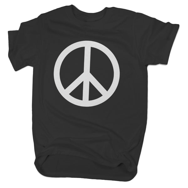 Regular Fit Peace Sign T-Shirt - ALL BROTHERS ALL STARS -  - T-shirts - 1