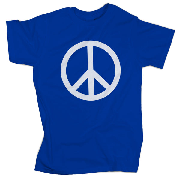 Regular Fit Peace Sign Tee - ALL BROTHERS ALL STARS -  - T-shirts - 1
