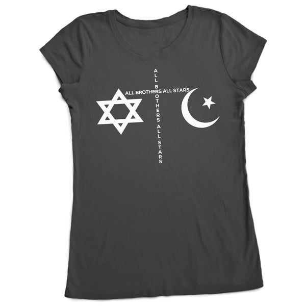 Women's Made in America Peace T-Shirt - ALL BROTHERS ALL STARS -  - T-shirts - 1